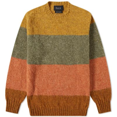 Howlin' Fall In Paradise Stripe Crew Knit