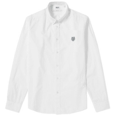 Kenzo Button Down Tiger Poplin Shirt