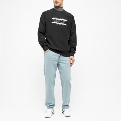 Know Wave Classic Anxiety Logo Crew Sweat