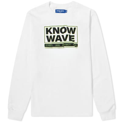 Know Wave Long Sleeve Chop It Up Tee