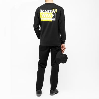 Know Wave Long Sleeve Chopped And Screwed Tee