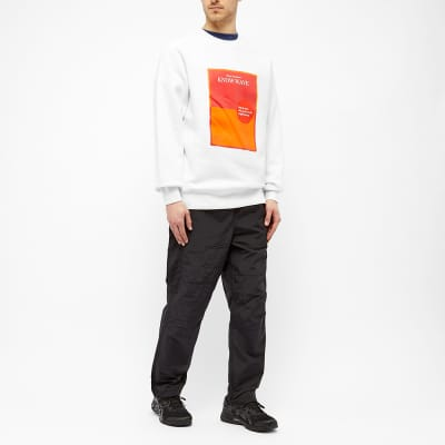 Know Wave Warrior Poet Society Crew Sweat