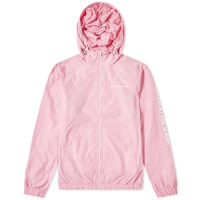 Calvin Klein Nylon Zip-Up Jacket