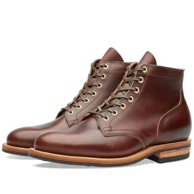 Viberg Plain Toe Service Boot