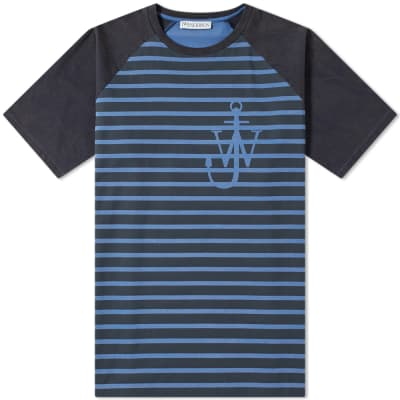 JW Anderson Anchor & Stripe Tee