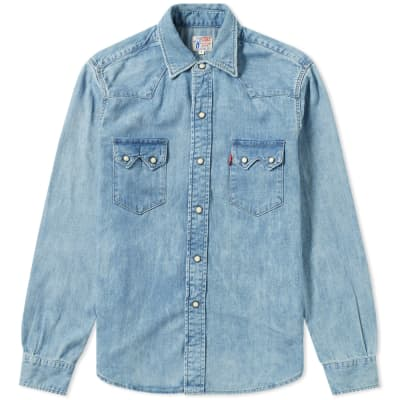 Levi's Vintage Clothing 1955 Sawtooth Shirt