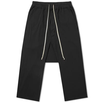 Rick Owens DRKSHDW Drawstring Cropped Pant