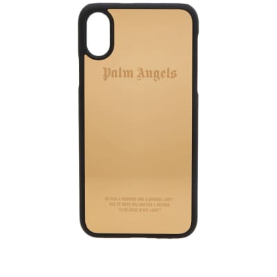 Palm Angels Metallic iPhone X Case