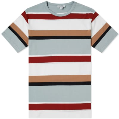 Sunspel Multi Stripe Tee