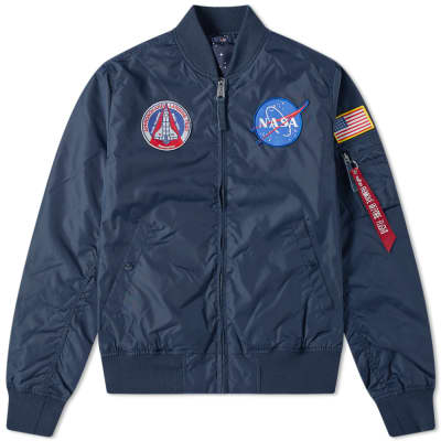Alpha Industries MA-1 TT NASA Reversible Jacket