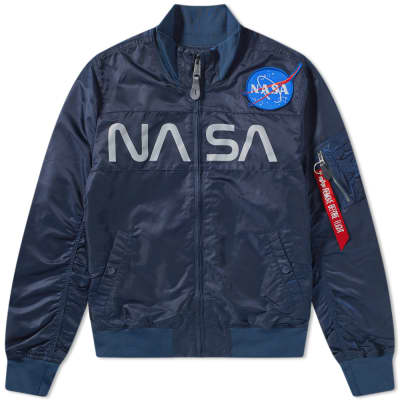 Alpha Industries NASA Funnel Neck Jacket