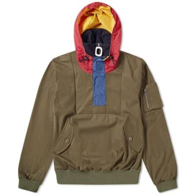JW Anderson Funnel Neck Half Zip Jacket