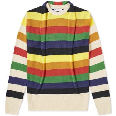 JW Anderson Multicolour Stripe Knit