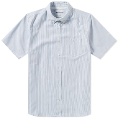 Norse Projects Short Sleeve Theo Oxford Shirt