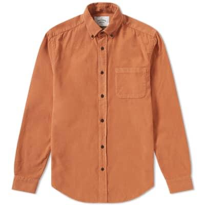 Portuguese Flannel Button Down Lobo Corduroy Shirt