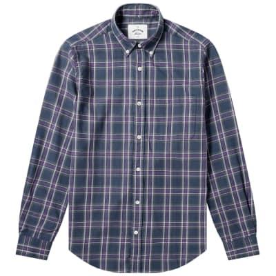 Portuguese Flannel Button Down Napa Check Shirt