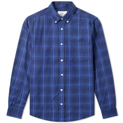 Portuguese Flannel Button Down Oxnard Check Shirt