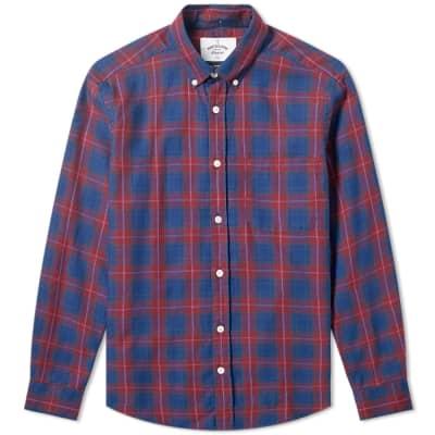 Portuguese Flannel Button Down Viseu Check Shirt