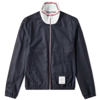 Thom Browne Funnel Neck Track Jacket