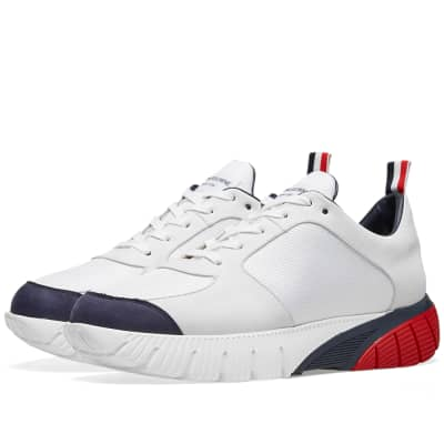 Thom Browne Raised Nubuck Runner