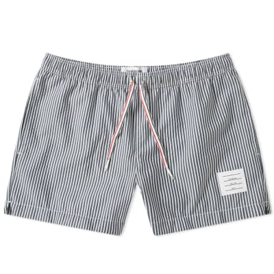 Thom Browne Seersucker Swim Short