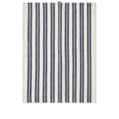 Ferm Living Hale Yarn Dyed Linen Tea Towel