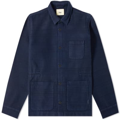 Folk Assembly Woven Chore Jacket