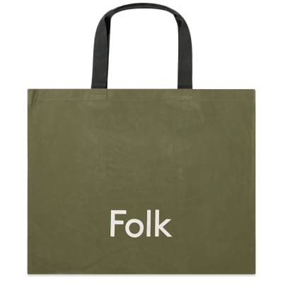Folk Logo Tote Bag