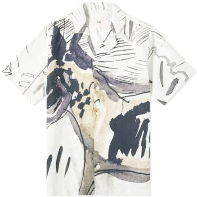 Folk Printed Vacation Shirt