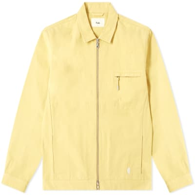 Folk Zip Shirt Jacket