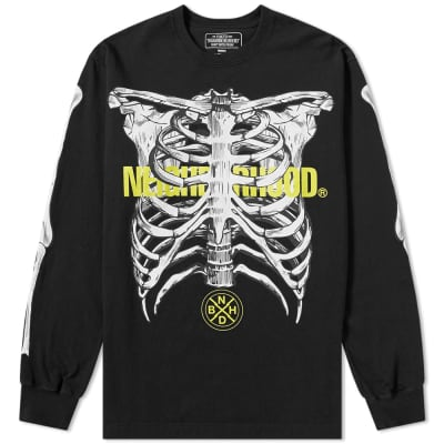Neighborhood Long Sleeve Anatomy Tee
