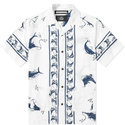 Neighborhood Short Sleeve Swordfish Shirt