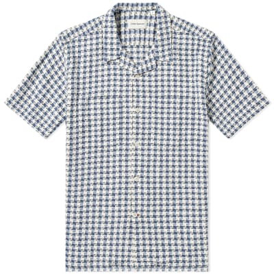 Oliver Spencer Checked Havana Vacation Shirt