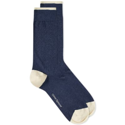 Oliver Spencer Turton Tipped Sock