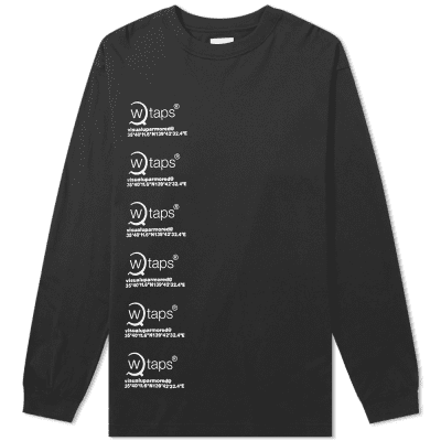 WTAPS Long Sleeve GPS Tee