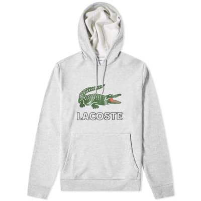 Lacoste Big Croc Logo Popover Hoody