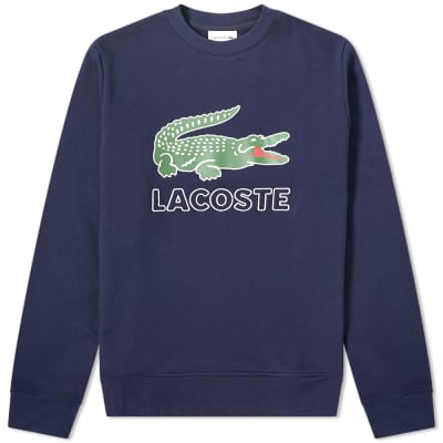 Lacoste Big Croc Logo Sweat