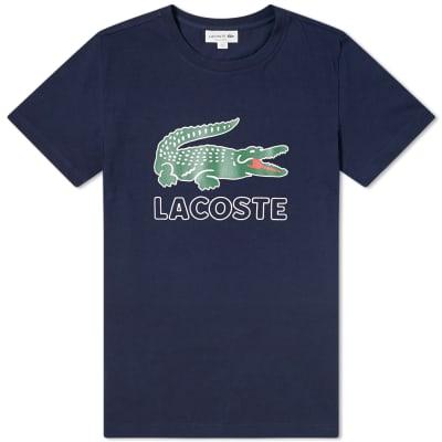 Lacoste Big Croc Logo Tee