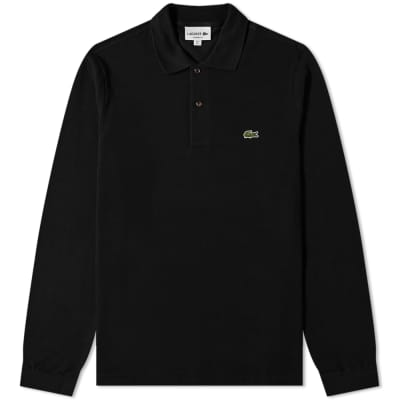 1eb5040705 Lacoste Long Sleeve Classic Pique Polo