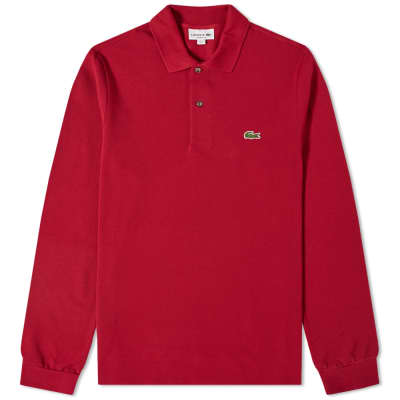 8e7c5406a Lacoste Long Sleeve Classic Pique Polo