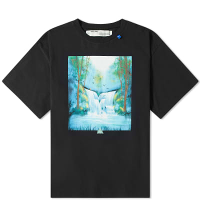 Off-White Waterfall Arrow Oversized Tee
