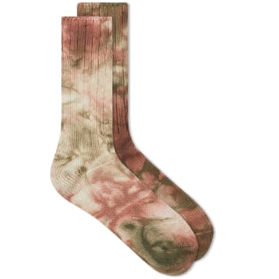 Anonymous Ism Uneven Dye Crew Sock