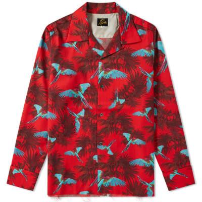 Needles Oriental Print Over Shirt