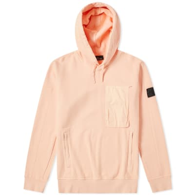 Stone Island Shadow Project Diagonal Weave Popover Hoody