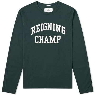 Reigning Champ Long Sleeve Ivy League Tee
