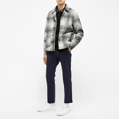 NN07 Frost Plaid Shirt Jacket