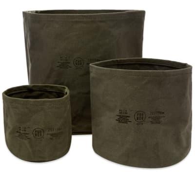Puebco Canvas Pot Cover - Set Of 3