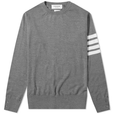 Thom Browne Classic Merino Crew Knit