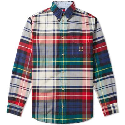 Tommy Jeans 6.0 Plaid Crest Shirt M10