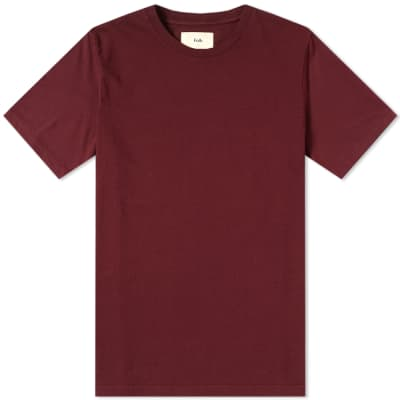 Folk Contrast Fabric Sleeve Tee